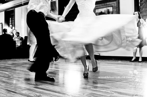 Dancing Bride Wisner Photo