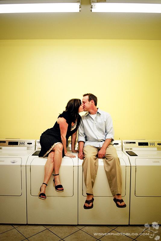 Laundry Engagement Wisner Photo